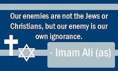 Imam Ali a.s. quotes; Jews+ Christians+ Muslims
