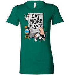 Eat More Plants (Women's Tee)