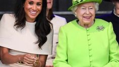 Meghan Markle PANICS without Harry as she forgets protocol with Queen