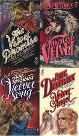 Jude Deveraux's Velvet Quadrilogy: The Velvet Promise, Highland Velvet, Velvet Song, and Velvet Angel