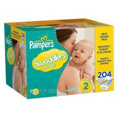 Pampers Swaddlers Baby Diapers - Economy Plus Pack (Size 1)
