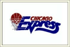 Chicago Express:  WBL Logo (1988)