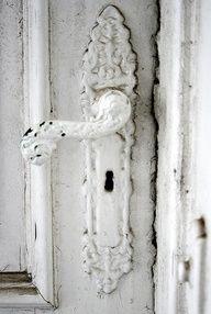 nice old door knob