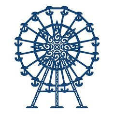 Tattered Lace - Dies - Ferris Wheel