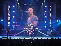 #Daughtry   Daughtry /ˈdɔːtri/[5] is an American rock band from McLeansville, North Carolina, formed and fronted by Chris Daughtry, who was a finalist on the fifth season of American Idol.   #Cinelease provided #grip & #lighting equipment on the production. Learn more about Cinelease, Inc. at: http://www.cinelease.com  #EverythingInLight