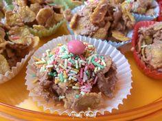 Dolcini veloci con corn flakes e cioccolato | Ricetta