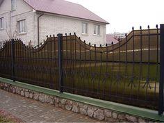 Забор из поликарбоната #3
