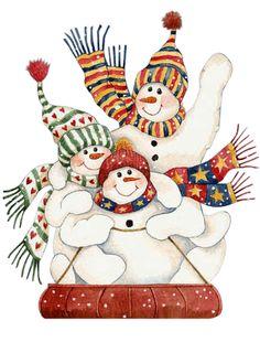 Авторские открытки, скрапбукинг,МК Елены Литвиновой: Новогодний миник-2