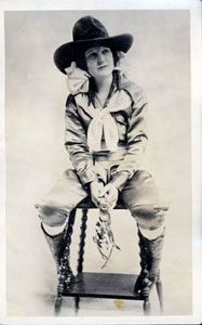 Cowgirls of the old west were tough - and beautiful too it seems...(Bonnie Carroll)