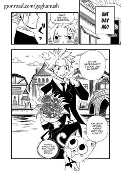 Fairy Tail - Amusement Park (Page 1) by Geghanush