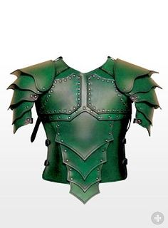 Dragon Rider Leather Armour green from maskworld.com