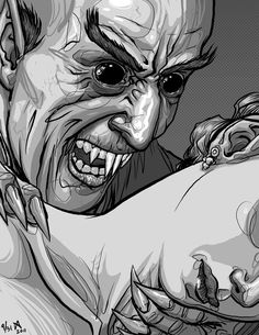 Nosferatu by quasilucid on DeviantArt Cool Monsters, Classic Monsters, Halloween Horror Nights, 31 Days Of Halloween, Horror Icons, Horror Art, Character Design Disney, Vampires And Werewolves, Classic Horror Movies