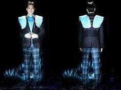 60 Futuristic Menswear Editorials
