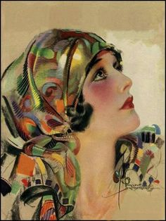 """ROLF ARMSTRONG PIN UP COLLECTION lithograph print 8x10"""" GREAT COLORS #art"""