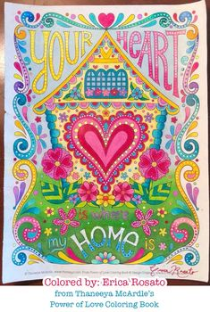 My Power of Love Coloring Book features 32 loving coloring pages that celebrate togetherness and acceptance. Coloring Book Online, Adult Coloring Pages, Coloring Books, Colouring, Inspiring Quotes Tumblr, Inspirational, Happy Tuesday Quotes, Hippie Quotes, Thread Painting