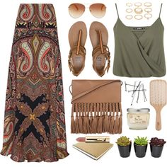 A fashion look from July 2015 featuring Miss Selfridge tops, Etro skirts and Billabong sandals. Browse and shop related looks.