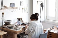 Creative Spaces : Inês Telles Jewelry | Photography by Sanda Vuckovic                                                                                                                                                                                 More