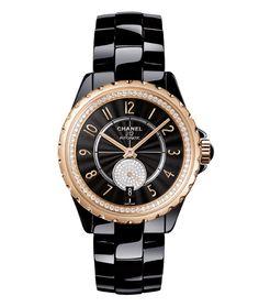 La montre J12-365 de Chanel Horlogerie http://www.vogue.fr/joaillerie/le-bijou-du-jour/diaporama/la-montre-j12-365-de-chanel-horlogerie/18514