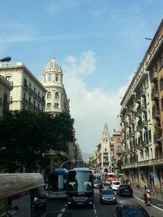 Las calles de Barcelona, Spain