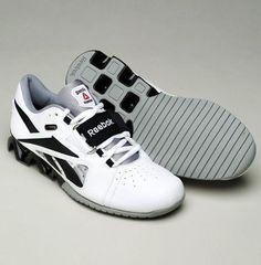 Love these shoes - Reebok CrossFit Lifter - White/Black/Grey (Women's)