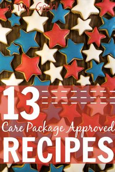 13 Care Package Approved Recipes Recipes that you can send in care packages, from someone who has tested them all. Military Deployment, Military Spouse, Crafts For Teens To Make, Diy And Crafts, Easy Crafts, Dollar Store Crafts, Dollar Stores, Deployment Care Packages, Army Mom