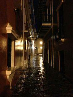 Callejon de la Capilla Viejo San Juan