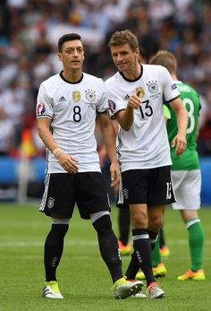 Özil & Muller - Germany EURO 2016