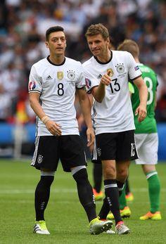 Özil & Muller - Germany EURO 2016