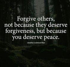 I already forgive you the moment you hurt me