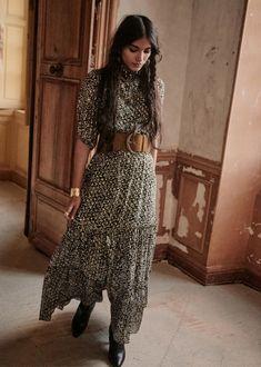 Modest Fashion, Fashion Dresses, Dress Skirt, Dress Up, Style Parisienne, Look Fashion, Womens Fashion, Mode Simple, Look Boho