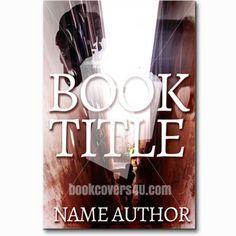 Man in alley walking with pistol thriller premade book cover Premade Book Covers, Book Title, Thriller, Walking, Books, Libros, Book, Woking, Book Illustrations