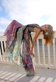 Byron Lars dress. So beautiful