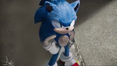 Sonic The Hedgehog The Movie (re-draw) by Sonicover on DeviantArt Sonic The Hedgehog, Hedgehog Movie, Shadow The Hedgehog, Rouge The Bat, Classic Sonic, Sonic Heroes, Sonic Fan Characters, Sonic 3, Sonic Franchise