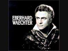 """O du mein holder Abendstern,"""" """"Tannhauser,"""" Wagner, Eberhard Waechter, Von Karajan, 1963"""