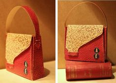 PAPERMAU: Vintage Art Deco Style Bag - by Agence Eureka - one for the girls!