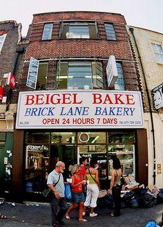 I migliori bagel...o meglio, beigel di Londra :) -Beigel Bakery   Brick Lane