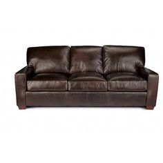 Manhattan Top Grain Leather Sofa   Overstock™ Shopping   Great Deals On  Sofas U0026 Loveseats
