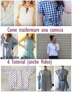 Come modificare una camicia - trasformare una camicia da uomo (6 tutorial con spiegazioni)