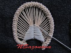 Romanian Point Lace _ tutorial 1