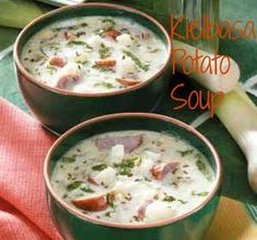 Kielbasa Potato Soup Recipe - The Ultimate Comfort Food! - Sounds really good, but I think I'd want to lighten it up a bit.