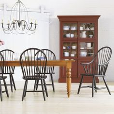 Large miller dining table ethan allen us dining rooms for O sullivan kitchen furniture