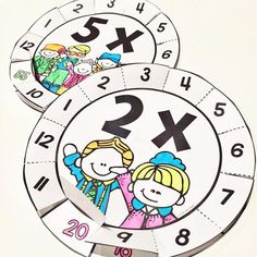 Multiplication Wheels - get creative with times tables 2-12 #teacherspayteachers…