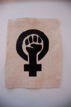 A feminist logo, but could easily be adapted to a medical student acitivism logo. Just change the female symbol to something medical like the red cross or the heart beat.