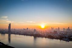 Sunshines on the Chao Praya river | par Cédric Fumière