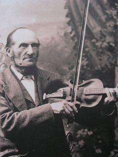 Norwegian Hardanger fiddle player.