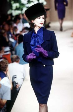 Yves Saint Laurent Haute Couture F/W 1995                                                                                                                                                     More