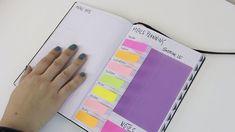Cómo planificar tu menú semanal con tu Bullet Journal Blog, Bullet Journal, Self, Weekly Menu, Day Planners, Activities, Blogging