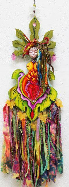 Yoni Rosebud Goddess Flower GoddessGoddess art by LoriFelixArtwork, $45.00