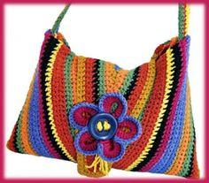 so cheerful crochet bag