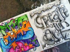 ten tips for artful lettering via joanne sharpe's article on balzer designs.